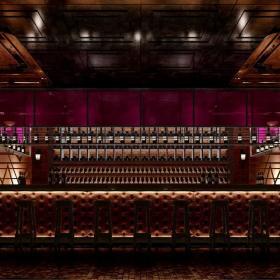 大型酒吧装修酒吧椅图片