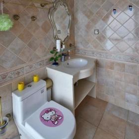 美式衛生間瓷磚圖片