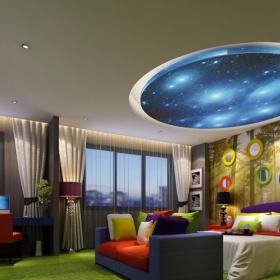 多彩客房 主題賓館客房裝修效果圖