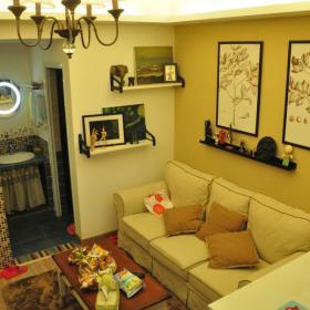 小清新客厅设计图片