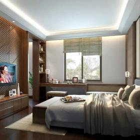 上海凱博農莊套房臥室設計圖片