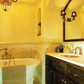 明亮雅致衛生間瓷磚裝飾設計
