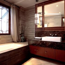 中式風格衛生間圖片