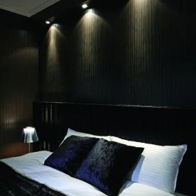 样板房卧室床头背景墙设计