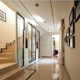 照片墙设计中式家装楼梯效果图
