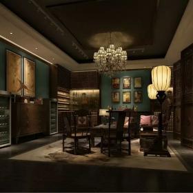 现代古典会所室内装饰图片