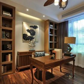 書房東南亞風格裝修