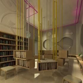 大型圖書館裝修案例