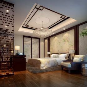 中式別墅臥室大全