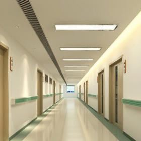 医院过道效果图 南开医院装修效果图