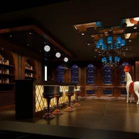 酒吧室內設計 酒吧吧臺裝修效果圖