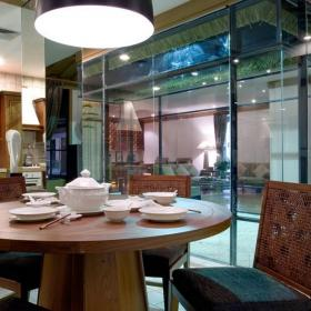 风情巴厘岛家装设计餐厅效果图