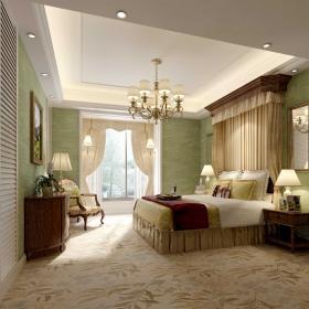美式風格設計臥室圖片大全
