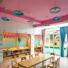 幼兒園教室吊頂裝修圖片
