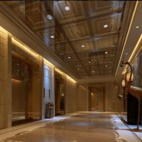 泰兴大酒店餐厅电梯间设计图片