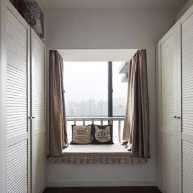 簡約風格儲藏室飄窗設計圖