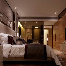 北京华贸城中式设计卧室图片