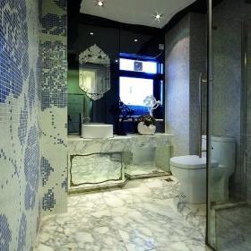 最新简欧卫生间瓷砖设计效果图