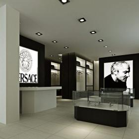進門大廳 范思哲服裝概念館設計