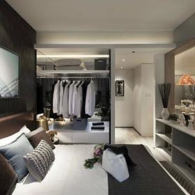 簡約風格臥室衣柜圖片