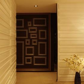 走廊墙壁照片墙效果图