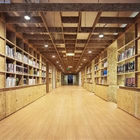 私人会所书房装修效果图