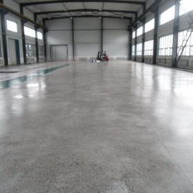 工厂混泥土固化地坪装修效果图