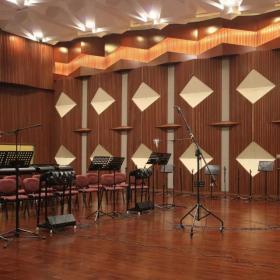 音樂錄音棚吊頂裝修設計