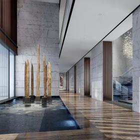现代会所走廊装饰图片欣赏