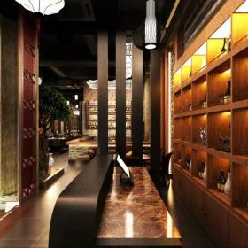 寿司店收银台设计图片