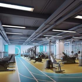 健身房設計圖片