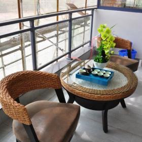 休闲区中式家装茶水间效果图