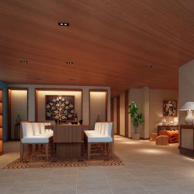 现代会所室内装修设计欣赏
