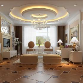 精致歐式風格客廳設計