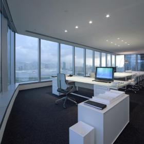 辦公室空間設計室內效果圖