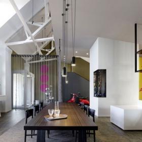 寬敞住宅空間餐廳裝修效果圖