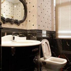 歐式新古典風格衛生間瓷磚圖片