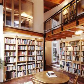 圖書館閱覽室圖片