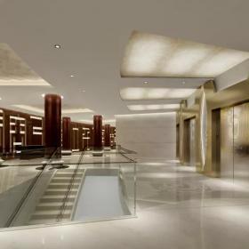 珠宝商场楼梯设计装修效果图