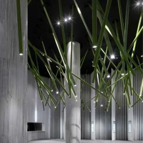 國際影院前廳吊頂設計
