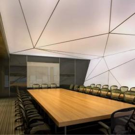 辦公室會議桌裝修圖片