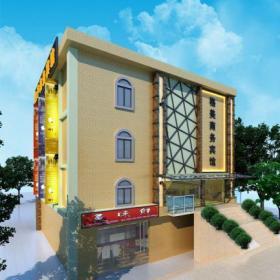 賓館大樓設計效果圖