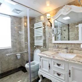 歐式衛生間鏡子圖片