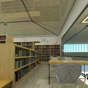 圖書館座位裝修設計
