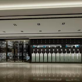 万和广场咖啡会所电梯间图片