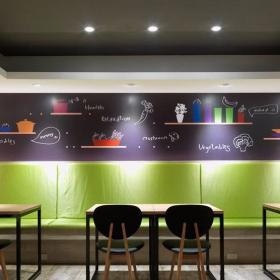 速食快餐店設計圖片