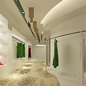 二樓女裝展示 范思哲服裝概念館設計