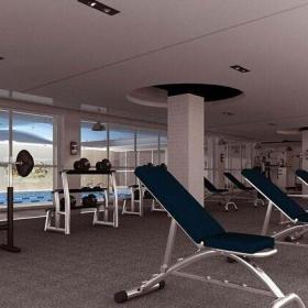 健身房機械圖片