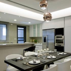 開放式廚房餐廳設計