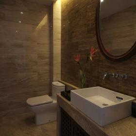 中式衛生間浴室鏡家裝效果圖價格